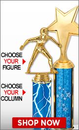 Handball Column Trophies