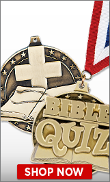 Bible Quiz Medal