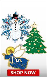Santa Claus Pins