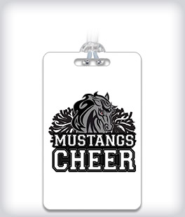 Custom ID Bag Tag With Your Sport Logo