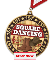 Square Dancing Medals
