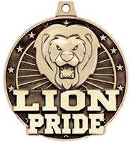 """2"""" 3D Lion Pride Medal"""