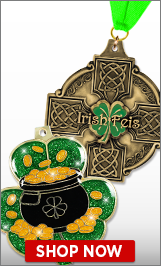 Irish Feis Medals