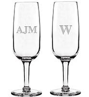 Soiree Monogram Champagne Flute