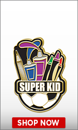 Super Kid Pin