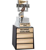 "12"" Fantasy Football Goal Post Perpetual Trophy"