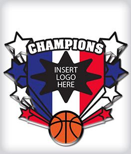 Custom Printed Basketball Pins