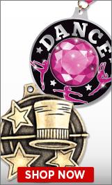 Tap Dance Medals