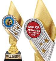 "11"" Celebrity Insert Trophy"
