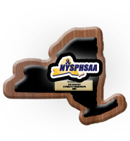 1st Place NYSPHSAA Plaque