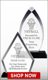 Netball Acrylic Awards
