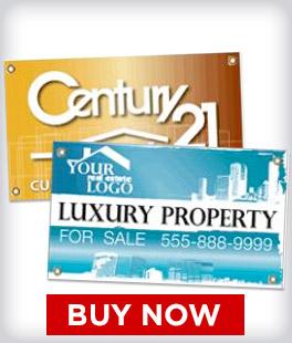 Custom Real Estate Banners
