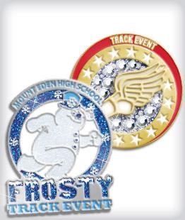Custom Specialty Track Pins