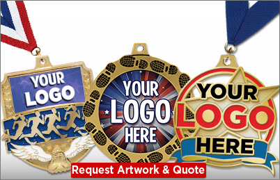 Cross Country Custom Medals