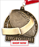 Flag Football Medals