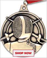 Fencing Medals