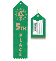 5th Place Award Ribbon