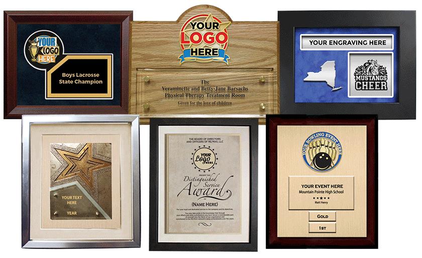 Custom Frame Plaques
