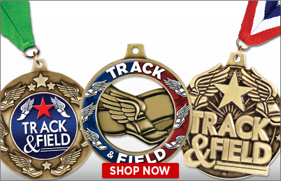 Track and Field Medals