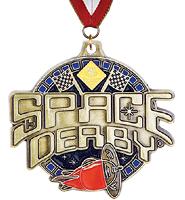Space Derby® Medal