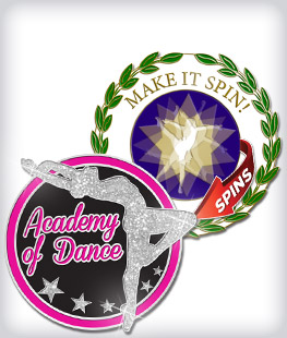 Custom Specialty Dance Pins