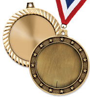 """2 1/2"""" Blank Medals"""