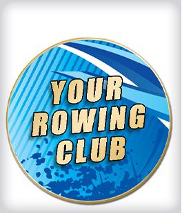 Custom Printed Rowing Pins