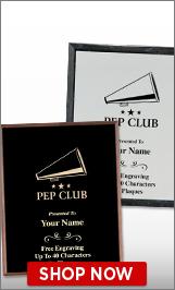 Pep Club Plaques