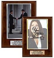 Vertical Slide-In Photo Frame Plaque