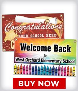 Custom School Banners