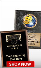 Water Polo Plaques