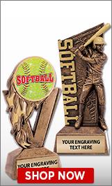 Softball Sculptures