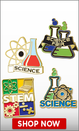 Science Fair Pins