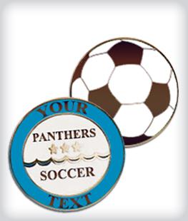 Custom Semi Cloissone Soccer Pins