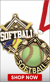 Softball Medals