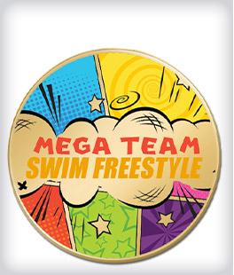 Custom Printed Swimming Pins