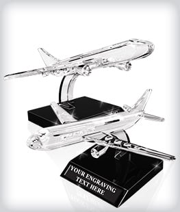 Custom Airplane Crystal