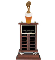 Fantasy Football Beer Perpetual Trophy