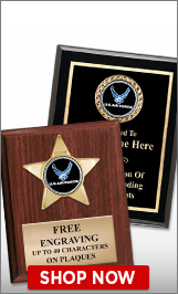 Air Force Plaques