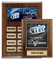 Wood Perpetual Plaques