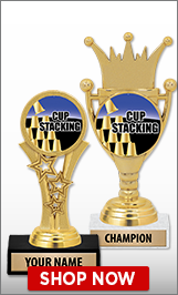 Cup Stacking Trophies