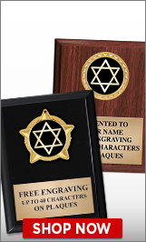 Star of David Plaques