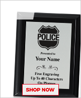 Police Plaques