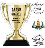 Acrylic Cup Trophy