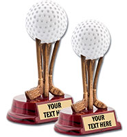 "5""-6"" Golf Ball Trophies"