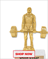 Weightlifting Trophies