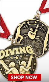 Diving Medals