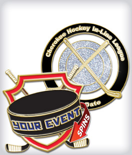 Custom Specialty Hockey Pins