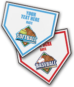 Home Plate Sport Plaques