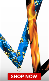 Neck Ribbons For Sports Medals   Medal Neck Ribbons